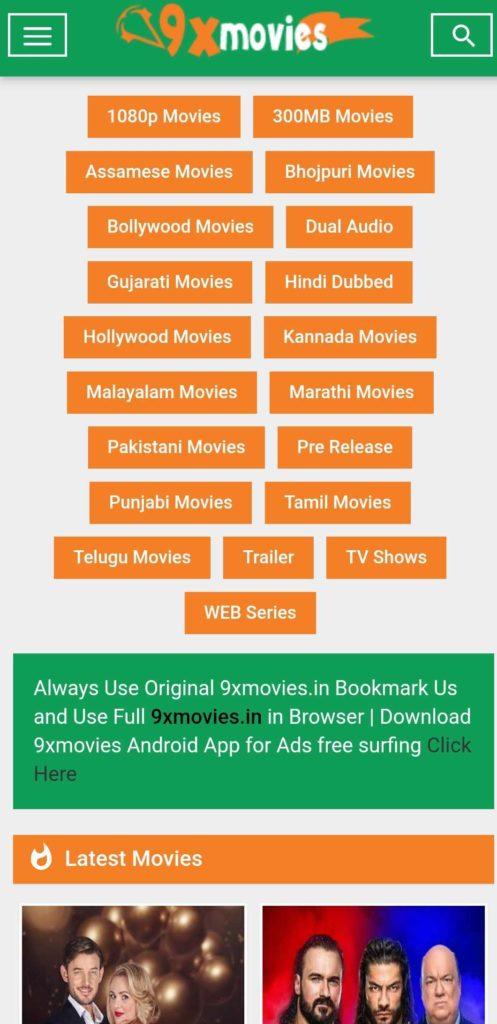 App 9xmovie