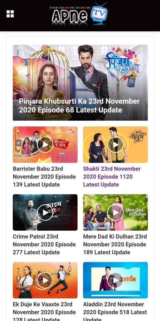 Apne Tv Hindi Tv Serials